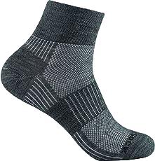 Wrightsock Merino Coolmesh ii Quarter Socke Füßlinge Sportsocken Neu
