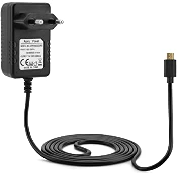 Aukru Micro USB 5V 3000 mA caricatore adattatore alimentazione per Raspberry Pi 3 modello B+ Plus/Pi 3, Pi 2 Modello B+ Plus, Banana Pi