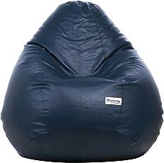 Excel Classic Bean Bag Cover without beans - XXXL Size - Navy Blue Colour