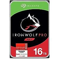 Seagate IronWolf Pro, NAS interne Festplatte 16 TB HDD, 3.5 Zoll, 7200 U/Min, CMR, 256 MB Cache, SATA 6 GB/S, silber…