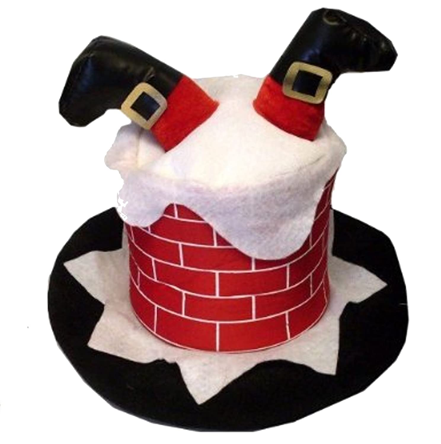 Adult novelty hat santa stuck in the chimney amazon adult novelty hat santa stuck in the chimney amazon sports outdoors solutioingenieria Images