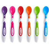 Munchkin Soft Tip Infant Spoons, 3+ Months, Multi Color, Pack of 6