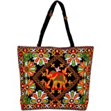 LeeRooy embroided Work Black Color Rajasthani Traditional Bag For Women/Girl