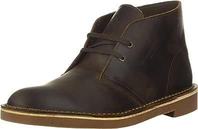 Clarks Men's Bushacre 2 Boot,Black Suede,13 M US