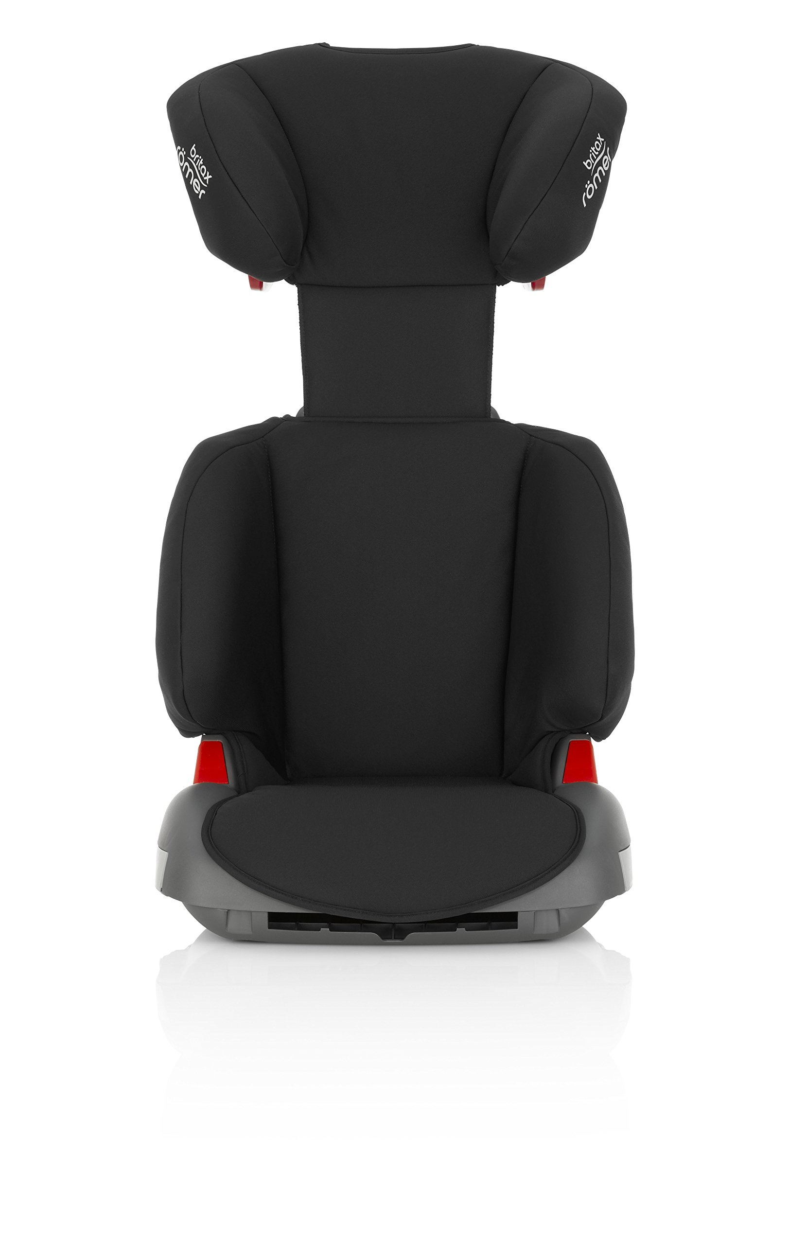 Britax Römer ADVENTURE Group 2-3 (15-36kg) Car Seat - Cosmos Black Britax Römer Intuitively positioned seat belt guides for straightforward installation every time. Machine washable seat cover that can easily be removed, so you can clean up quick and get on your way Reassurance of highback booster safety with side impact protection Lightweight, easily transferable shell 4