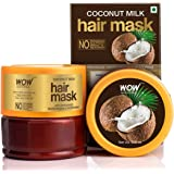 WOW Skin Science Coconut Milk Hair Mask with Coconut Milk, 200 ml