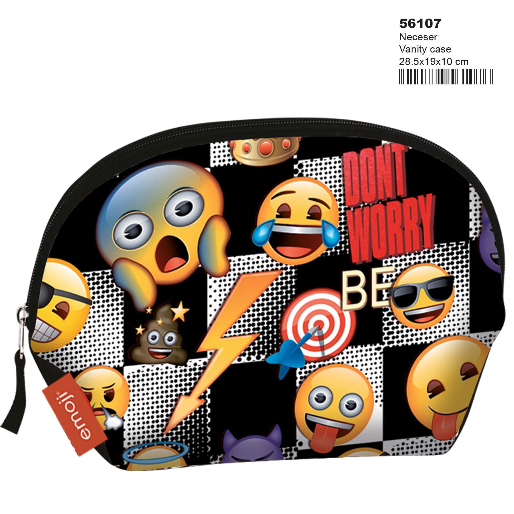 Montichelvo Montichelvo Vanity Case Em Sticker Neceser de Viaje, 29 cm, Multicolor (Multicolour)