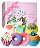 Badebomben Geschenkset, STNTUS Badekugeln Luxuriöses Geschenk für Frauen, Freundin, Mutter, Perfektes Valentinsgruß…