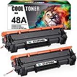 Cool Toner 2 Packs Compatibile per HP CF244A 44A Toner per HP LaserJet Pro MFP M28a M28w HP Laserjet Pro M15a M15w HP…