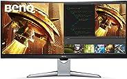 BenQ EX3501R 35 inch Ultra WQHD Curved Gaming Monitor, HDR, 21:9, 3440x1440, VA, FreeSync™, 100Hz, USB Type-C™, 1800R, Edge-