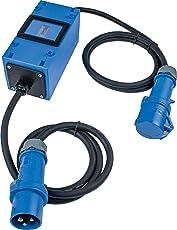 as - Schwabe 61748 MIXO Camping Stromzähler, 230 V, Blau