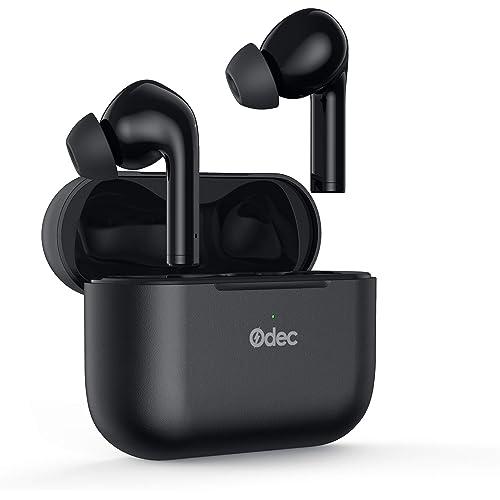 Odec Cuffie Bluetooth, Cancellazione Attiva del Rumore alle Cuffie in Modalità Gioco, Auricolari True Wireless con ANC, 30 Ore di Utilizzo, Suono Stereo Hi-Fi, Impermeabilità IPX8 e Bluetooth 5.0