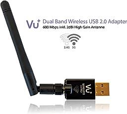 VU+ 600 Mbps Wireless USB Adapter WLAN-Adapter