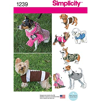 Simplicity Schnittmuster 3939 A: Woofy Wear by Wendy: Amazon.de ...