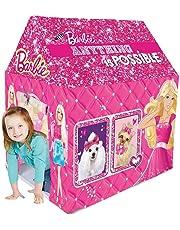 Barbie Kids Play Tent House (Multi Color)