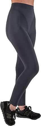 CzSalus Pantaloncino Lungo Termico Leggings Snellente Anti-Cellulite