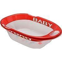 LuvLap Fun Club Baby Bathtub with Transparent Body (Red)