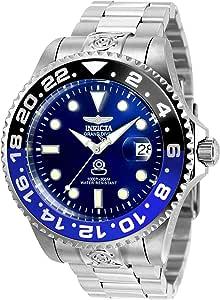 Invicta 21865 Pro Diver Orologio da Uomo acciaio inossidabile Automatico quadrante blu