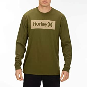 Hurley Men's M Core O&o Boxed L/S Tee Tees