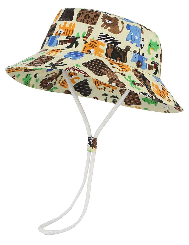 Cloud Kids Bob - Sombrero para bebé, unisex, algodón, protección contra rayos UV, verano, plegable, viaje 1