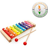 Trinkets & More - Xylophone for Kids (Big Size) Wooden Musical Instruments Toy Baby Children Toddlers 6 Months + (Pack of 1)