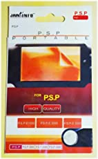 Jain Info Branded Screen Guard For PSP - - Compatible with PSP (1000/2000/3000 and E-1004 Models) Console. Generic