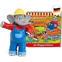 tonies Hörfiguren für Toniebox: Benjamin BLÜMCHEN Hörspiel - Benjamin als Baggerfahrer Figur - ca. 41 Min. - ab 3 Jahre…