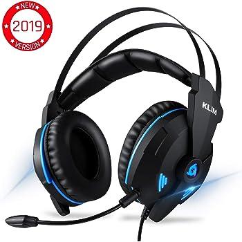 ⭐️KLIM™ IMPACT V2 Casque Gamer - USB Son 7.1 Surround - Casque Gaming ps4 avec Microphone - Écouteurs Audio Haute Qualité + Fortes Basses - Micro Casque Gaming Anti Bruit pour PC Portable PS4