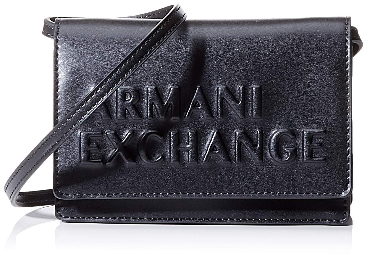 Armani Exchange Embossed Logo Crossbody Bag – Bolsos bandolera Mujer