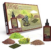 The Army Painter | Battlefields Basing Set | Collection de base pour Socles et Décors avec Guide et Colle Gratuits pour…