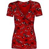 Vive Maria Red Summer - Maglietta da donna
