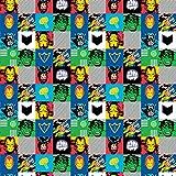 Unbekannt Camelot Marvel Stoff–Marvel Squares