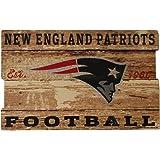 Wincraft NFL New England Patriots Wood Sign Holzschild Plank groß 76cm x 48cm