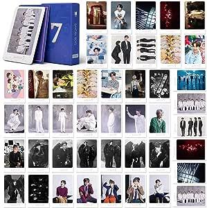 Cartes Lomo 54 pi/èces Cartes de zone Cartes postales Kpop Cartes photo Kpop Stray Kids Cartes Polaroid Lomo en verre d/époli Carte photo HD Cartes de voeux pour les fans