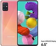 Samsung Galaxy A51 Dual SIM, 128GB, 6GB RAM, 4G LTE Pink (UAE Version)