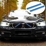 7 färger främre galler trimremsor passar för BMW tillbehör F20 F21 F22 F23 F30 F31 F32 F33 F34 F36 F44 F45 F46 G11 G12 G30 G3