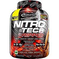 Muscletech Nitrotech Ripped 4lbs, Chocolate Brownie