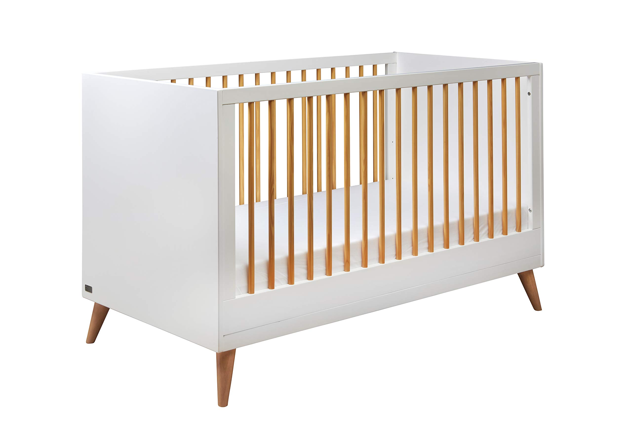 East Coast Nursery Panama Cotbed East Coast Nursery Ltd Converts to a toddler bed Three base heights Two fixed sides 1