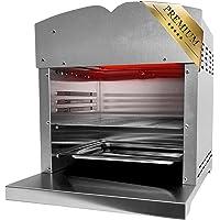 XXL Beef Maker Oberhitzegrill 800°-860° Grad Hochtemperaturgrill Gasgrill mit stufenlos regelarer Keramik…