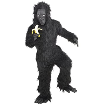 Amscan Dress Up 9902481 Gorilla Child Costume Non Solid Colour 8 10 Years