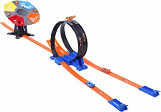 Dash Loops Of Deadly Fury DS 113 5 Years+, 6.5 x 2.5 x 2 cm, Develops Motor skill, Fun playset for kids Pull Back Car Track Set