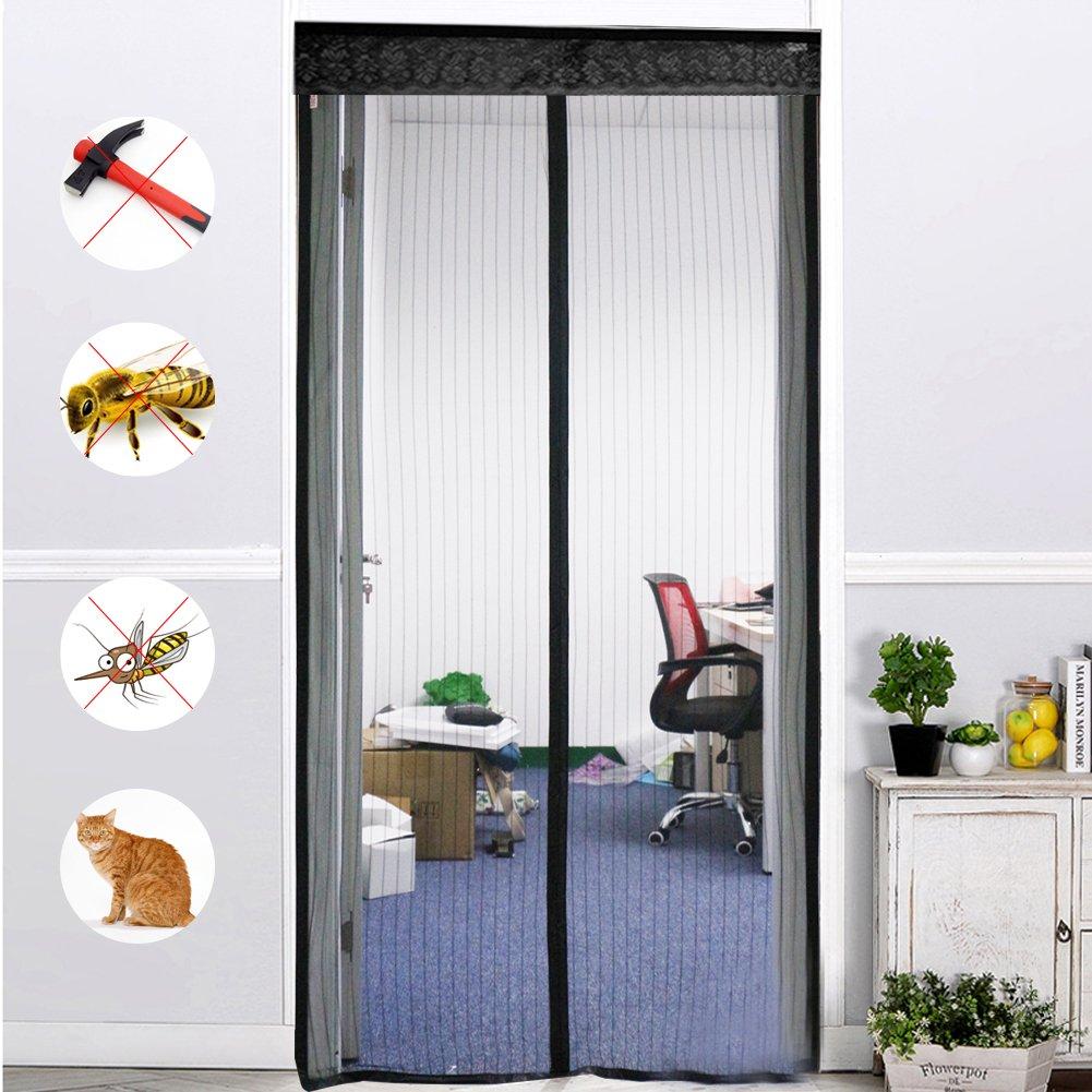 magnet fliegengitter t r insektenschutz 100x220 cm. Black Bedroom Furniture Sets. Home Design Ideas