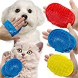 The Pets Company Rubber Deshedding Dog Bath Hand Band for Dogs and Cats