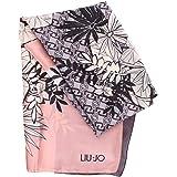 Sciarpa Liu Jo stola rettangolare stampa tropical 2A1098 T0300 nero
