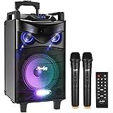 Enceinte Sono Portable Haut-parleur Moukey Bluetooth Sonorisation 200 Watt Karaoké Système Enceinte sonorisation PA système a