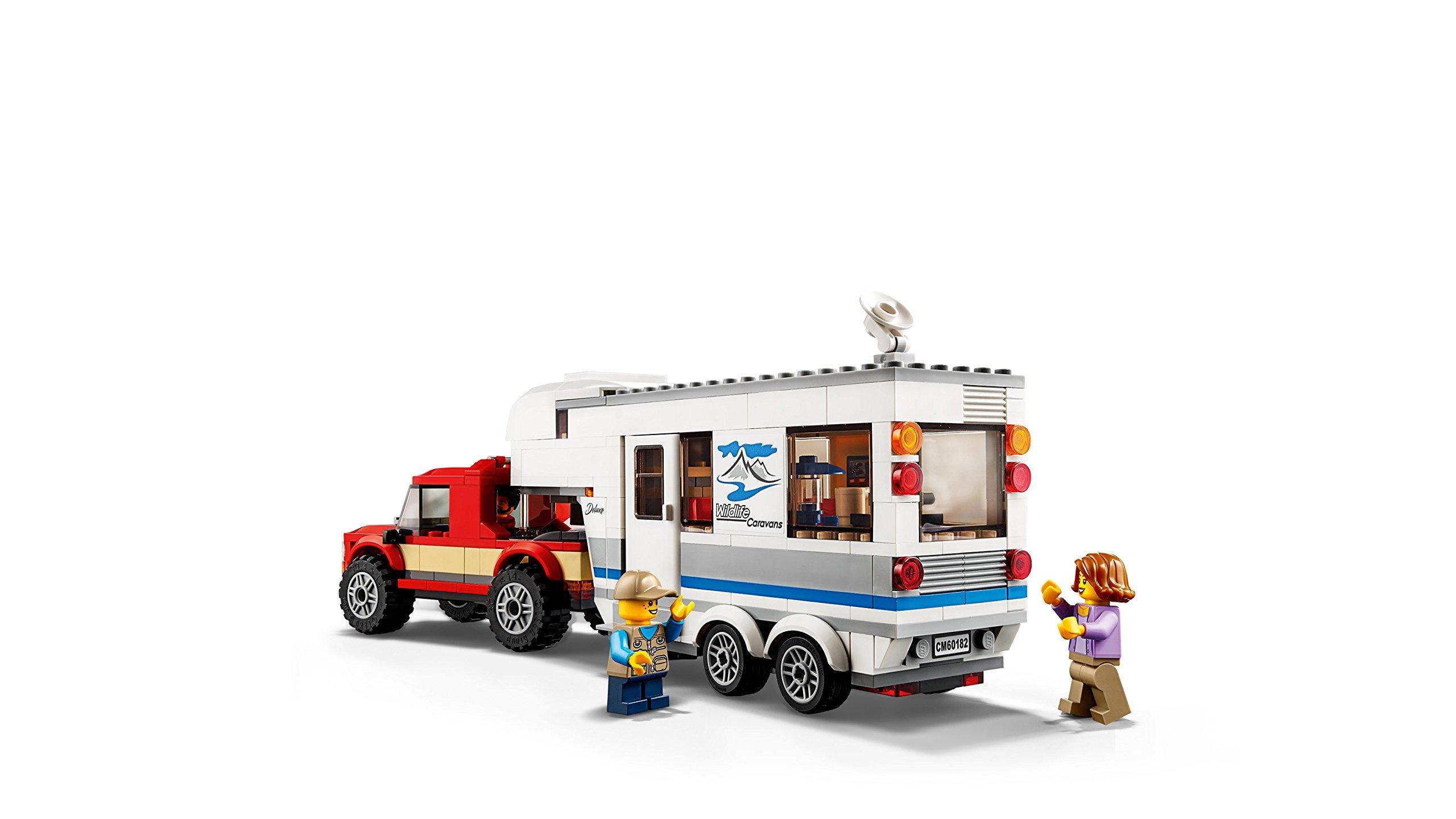 LEGO- City Pickup e Caravan, Multicolore, 60182 3 spesavip