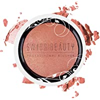 Swiss Beauty Professional Blusher, Face Makeup, 6g (Apricot Peach)