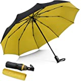 DORRISO Vogue Automático Plegable Paraguas Mujer Hombres Portátil Viajar Paraguas Antiviento Impermeable Unisexo Paraguas Ama