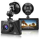 【2021 Nuova Versione】 CHORTAU Telecamera per Auto 1080P Full HD, Dashcam Schermo da 3 Pollici 170° Grandangolare con registra