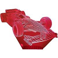 FORMULA 1, Lampada illusione 3D con LED - 7 colori.
